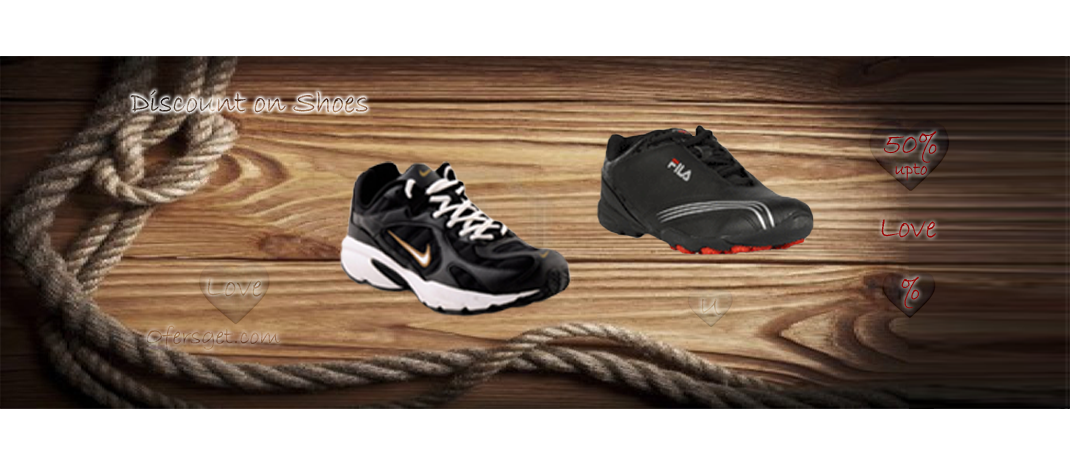 Offers get – Shoes shopping coupons, India's deals – 65% off (100% Working) coupon codes at offersget valid now.